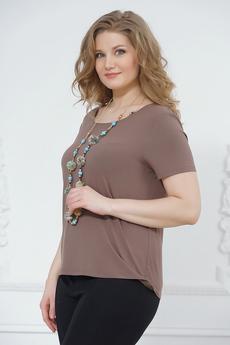 Блуза прямого кроя из вискозы Liora