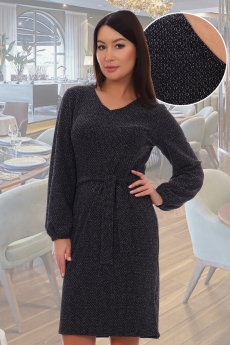 Платье с люрексом Натали со скидкой